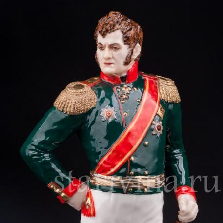 Коллекционная фарфоровая статуэтка Русский генерал А. П. Ермолов, Россия, совр.